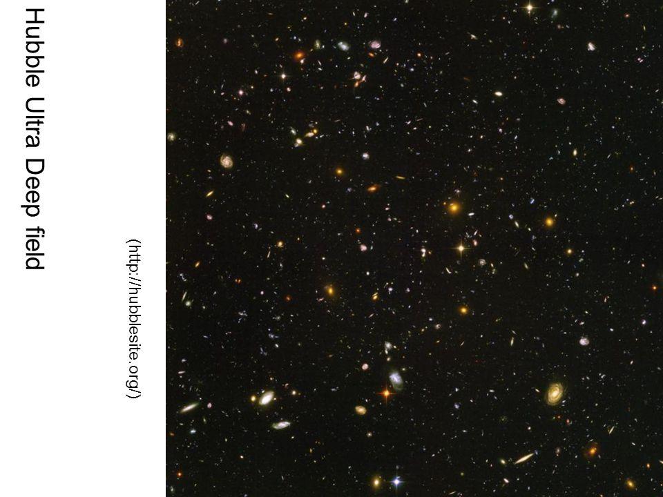 (http://hubblesite.org/) Hubble Ultra Deep field