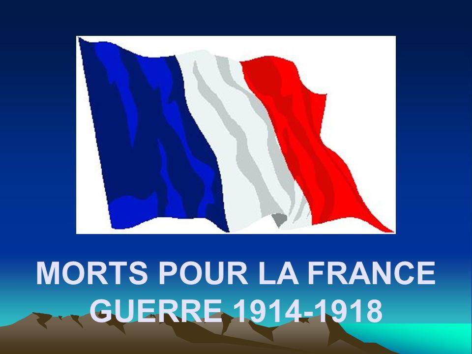MORT POUR LA FRANCE SATORY Aimé Louis