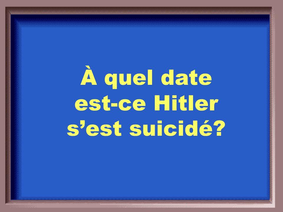 1)Déchirer le Traité de Versailles 2)Reprendre le territoire perdu 3)Reprendre le peuple perdu 4)Rebartir l'armée Allemagne