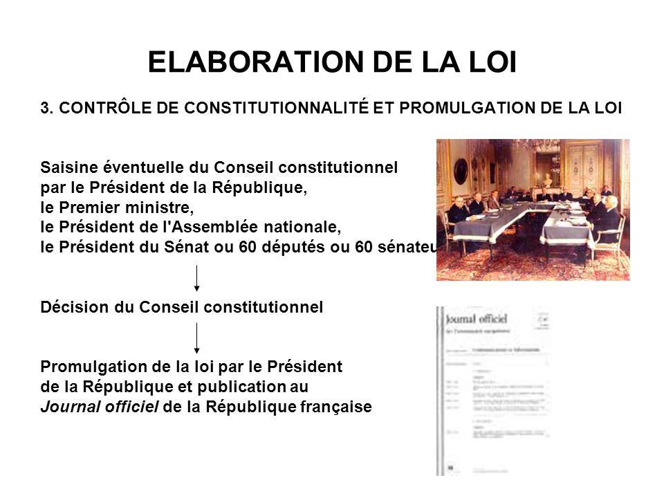 LES POUVOIRS DU PARLEMENT Pouvoirs du SENAT A l exception du vote d une motion de censure, les sénateurs ont des pouvoirs identiques à ceux de leurs collègues députés en matière de contrôle du gouvernement, l une des fonctions essentielles du Parlement.