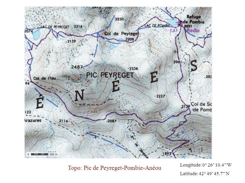 Départ en contrebas du Col du Pourtalet et arrivée au Col de Soum de Pombie (alt: 2129 m).