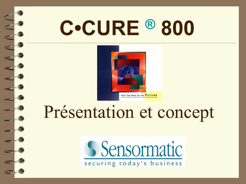 CCURE ® 800 Présentation et concept