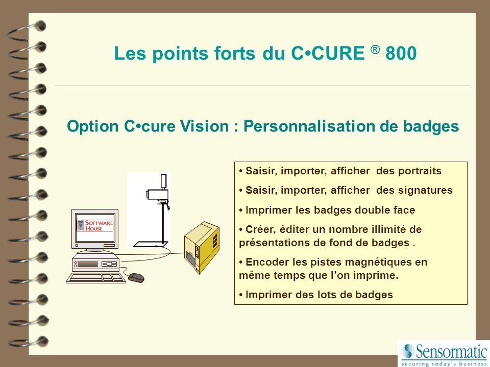 Importation des employés via ODBC.REST DRH VISIT Chaque application externe demande au C.cure 800 de créer automatiquement de nouveaux enregistrements