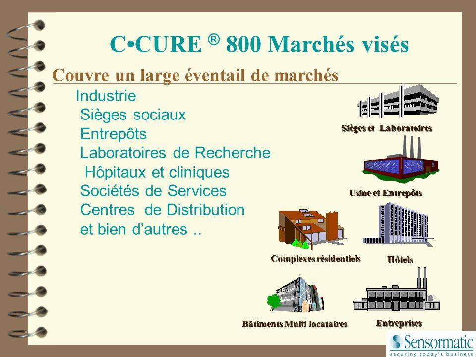 C·CURE ® 750 CCURE ® 800 Gestion migration C·CURE ® 800 CC800DBCU Conversion de la base de données CCURE750 en CCURE800 (rentable si > à 600 enregistr