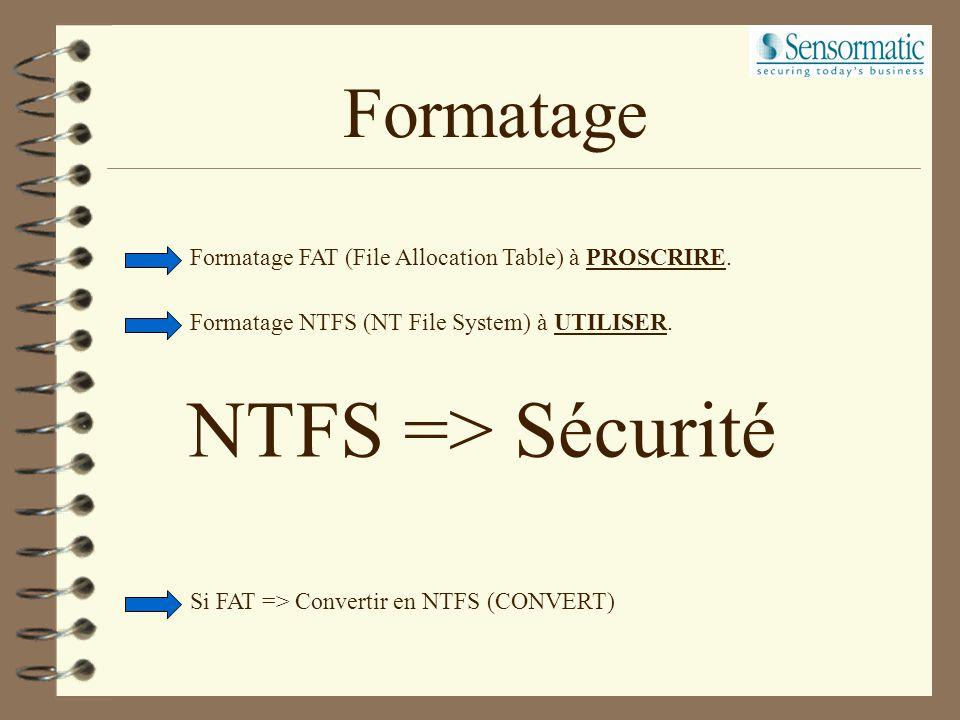 Operating System Windows NT impératif pour l'application CCURE800 Serveur. Windows NT ou Win 95/98 pour l'application CCURE800 Client. Windows NT Work