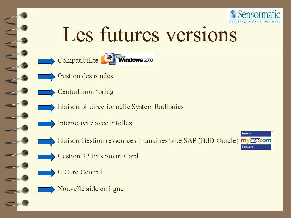 Installation du logiciel A installer après la configuration réseau. Sentinelle sur le serveur CCURE800. N° de série licence à demander à SoftWare Hous