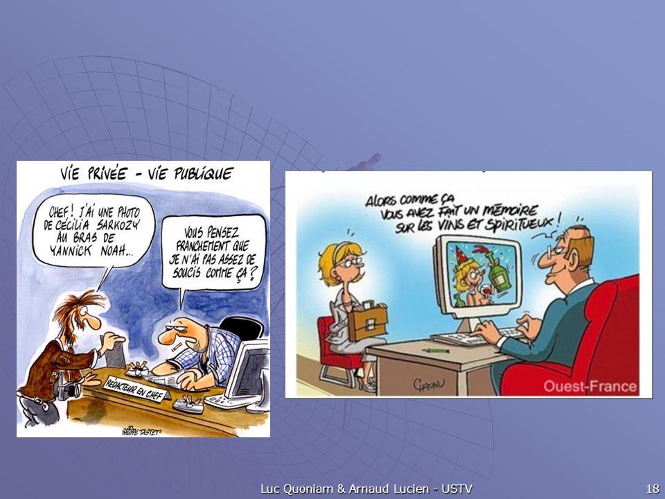 Luc Quoniam & Arnaud Lucien - USTV 18