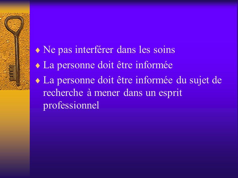  Circulaire du 16 mai 1995 (relative à la charte du patient) aborde l'accessibilité, le droit à l'information, « au consentement aux soins explicites