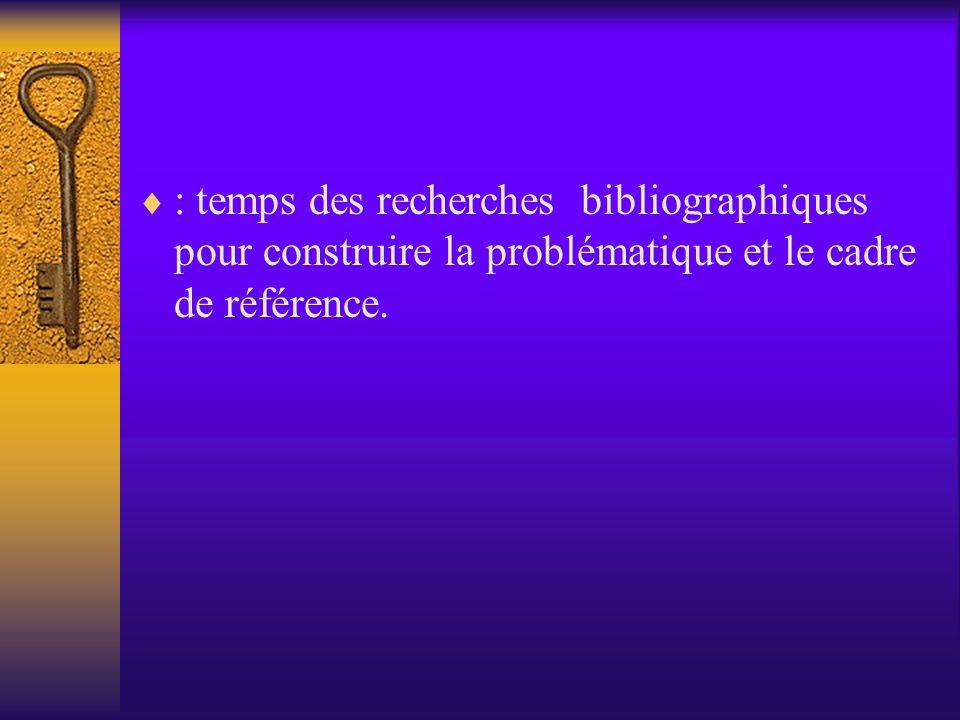 Les références conceptuelles et théoriques