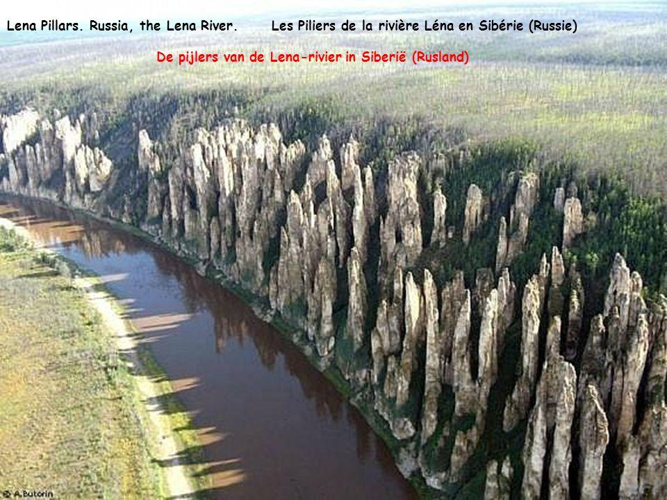 Lena Pillars.Russia, the Lena River.