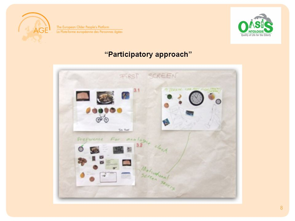 8 Participatory approach