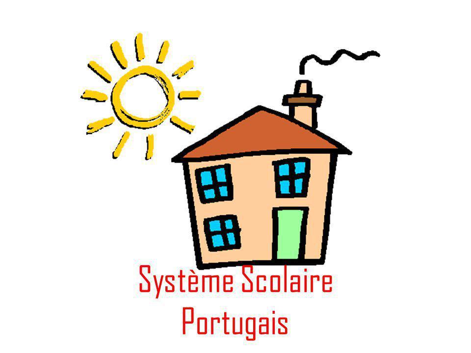 Au Portugal, on commence avec l´école maternelle, où les enfants de 4 à 5 s' amusent, en même temps qu'ils aprennent.