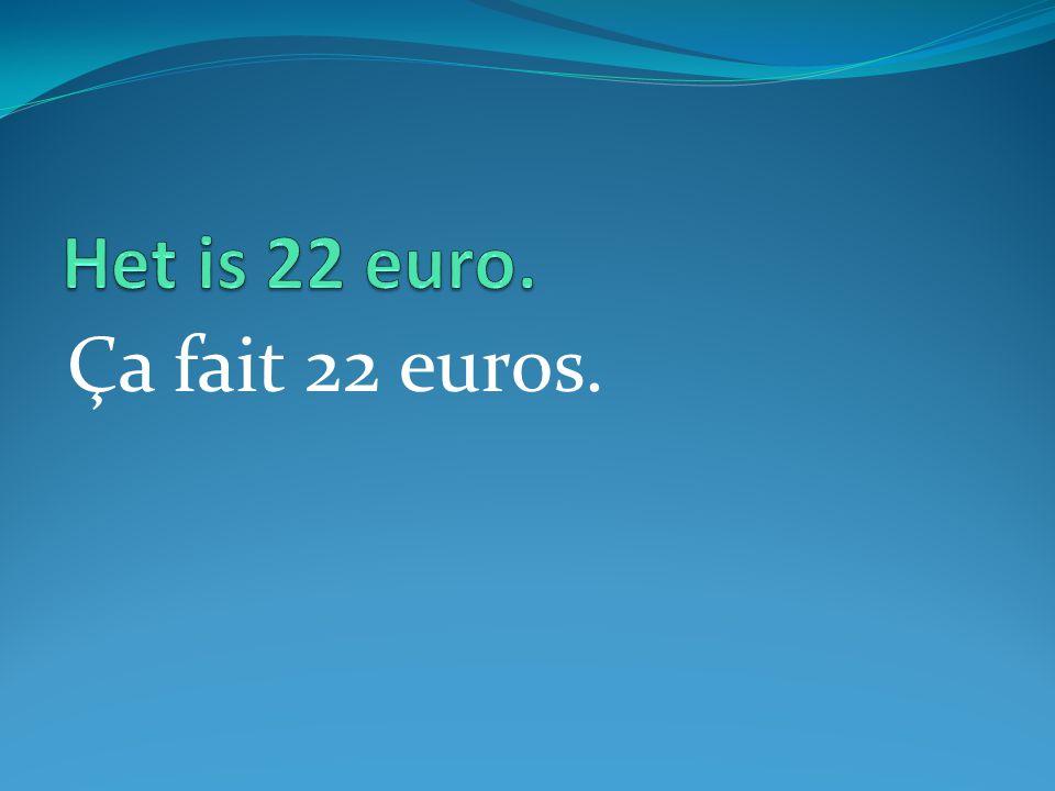 Ça fait 22 euros.