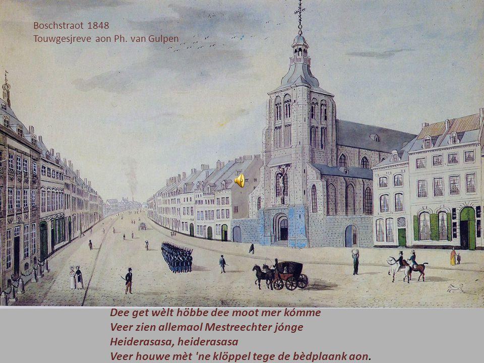 Umwalling Wiek mèt rondeel Bloemendaal 1669 Valentijn Klotz Meister Jepkes höbder hieringe ? Nein, nein, nein, die zien verkoch. Achter de winkelbaank