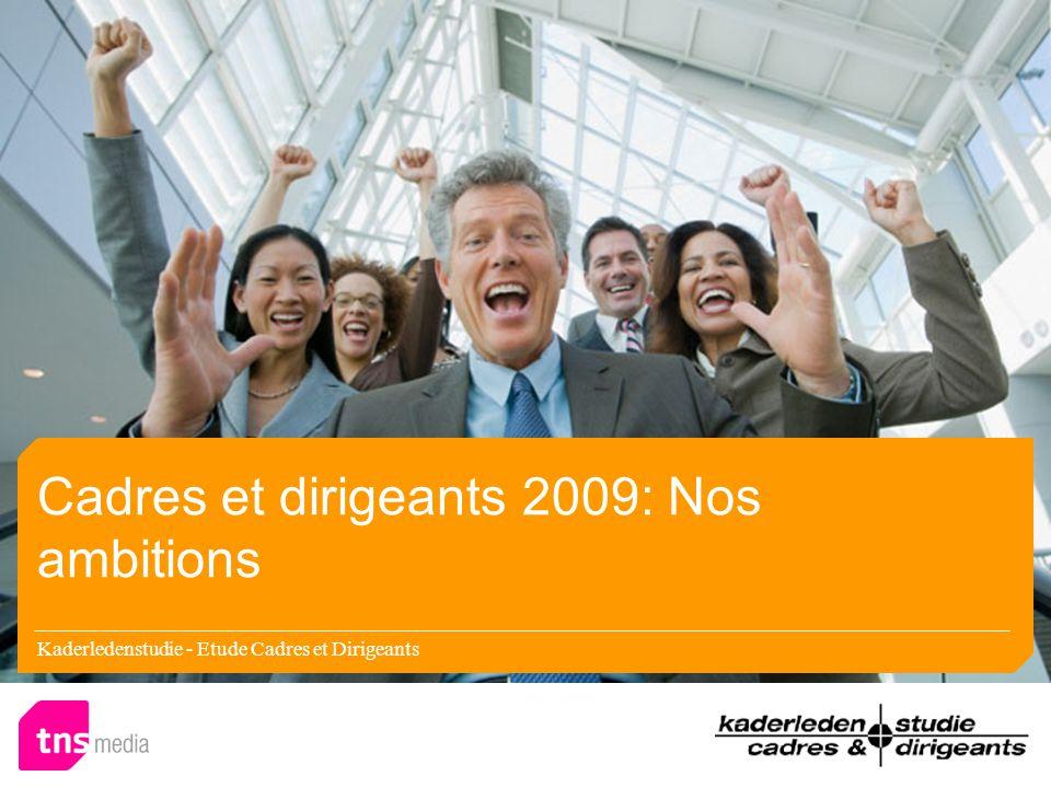 Kaderledenstudie - Etude Cadres et Dirigeants Results 2009 – Print