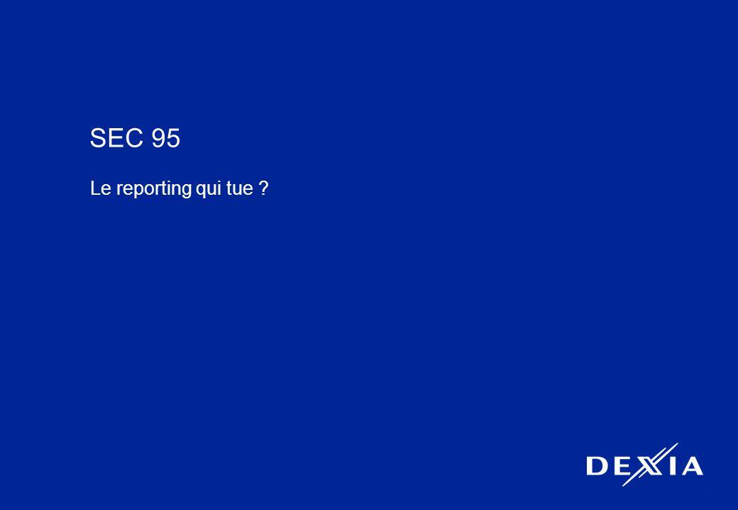 10 SEC 95 Le reporting qui tue