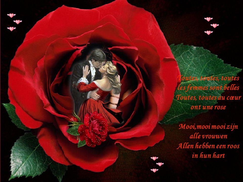 Mon cœur leur chante à toutes en même temps Mijn haar zingt steeds voor allen op dezelfde tijd