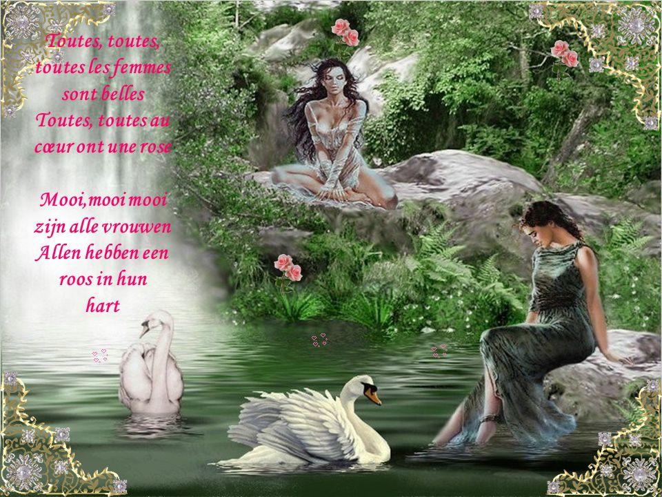 Moi l'éternel baladin C'est de tout cœur que je viens Vous offrir ce refrain Ik de eeuwige troubadoer Uit het diepst van mijn hart Bied ik je dit refr