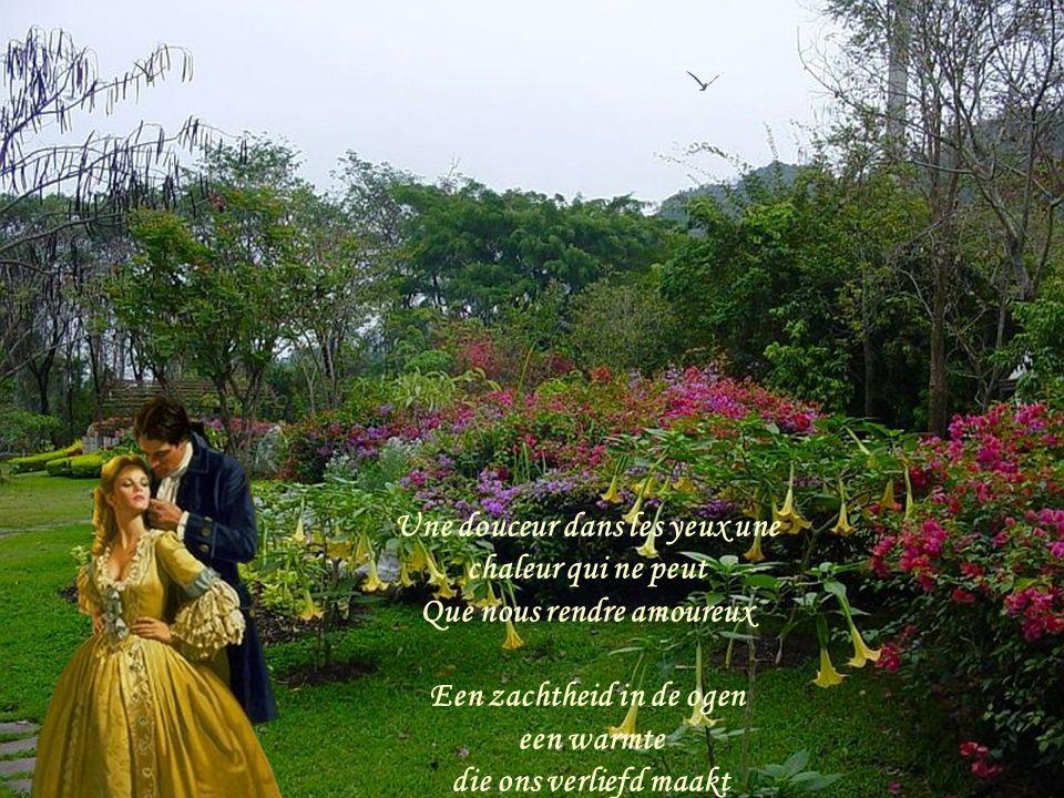 Toutes, toutes, toutes les femmes sont belles Toutes, toutes au cœur ont une rose Mooi,mooi zijn alle vrouwen Allen dragen een roos in hun hart