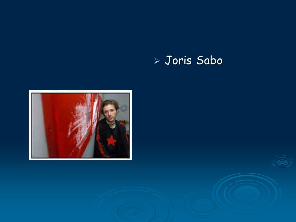  Joris Sabo