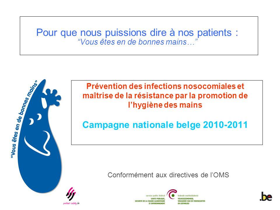 Par la promotion des pratiques optimales d'hygiène des mains et de contrôle des infections, le Premier Défi Mondial pour la Sécurité des Patients a pour but de réduire les infections associées aux soins (IAS) dans le monde