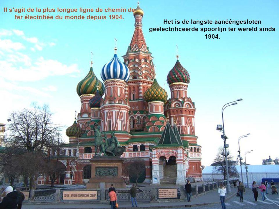 De Transsiberische spoorlijn is een spoorwegnetwerk tussen Moskou en het Russische Verre Oosten, China en Mongolië. De spoorlijn is een ongelooflijke