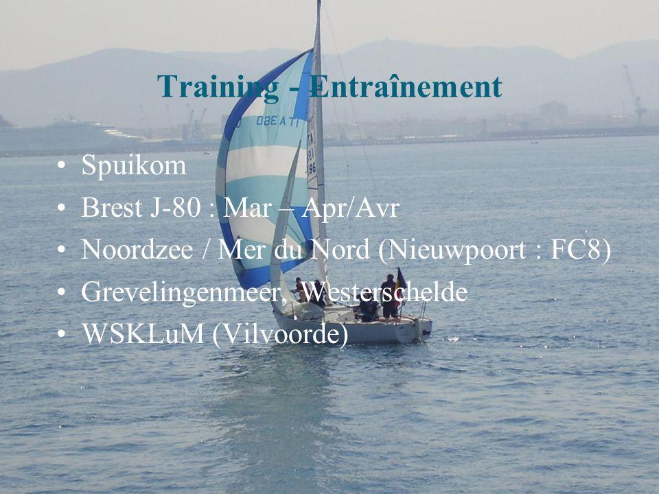 Opleiding gevorderden met Zeilschool van de Marine (Evolutie 2 - Aug 09) Formation avancée Avec l'Ecole de Voile de la Marine (évolution 2 - Août 09)