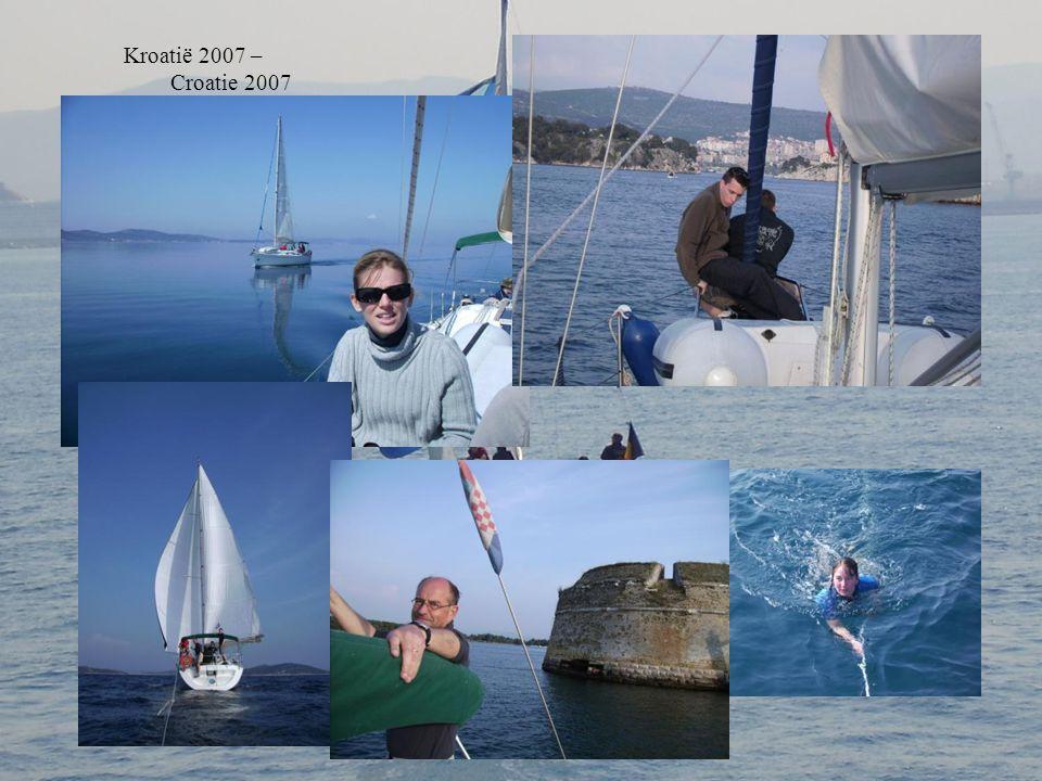 26 mar - 5 apr 2010 Met schipper - Avec skipper Kroatië / Croatie Marina Dalmacia, Sukosan Vektor 361, 11m, 8 pers Kornati eilanden Beslissing – décis