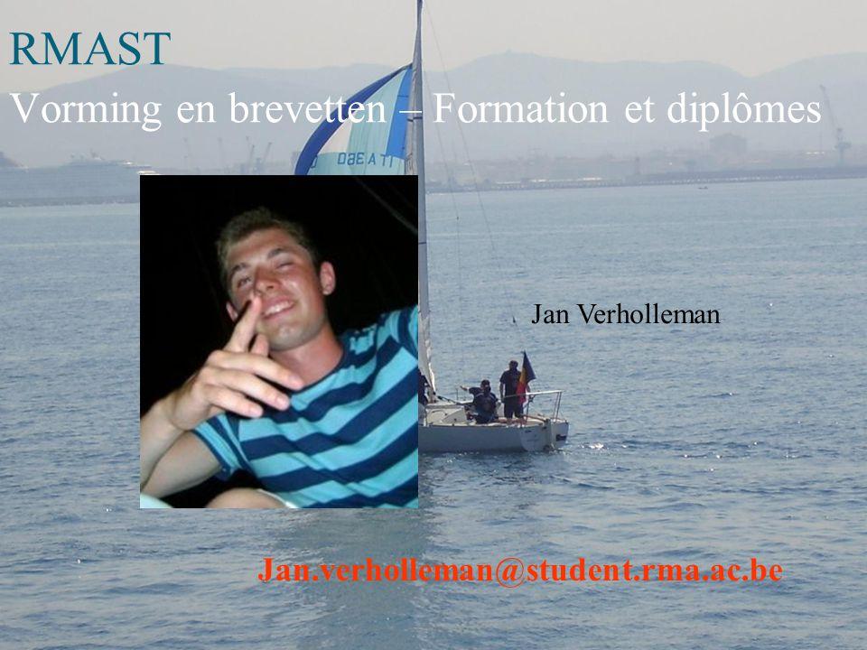 RMAST Yachting Fabienne NAWARA fabienne.nawara@student.rma.ac.be 0476/428154