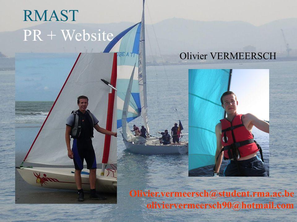 RMAST PR Laurent WUILLAUME Laurent.wuillaume@hotmail.com Laurent.wuillaume@student.rma.ac.be