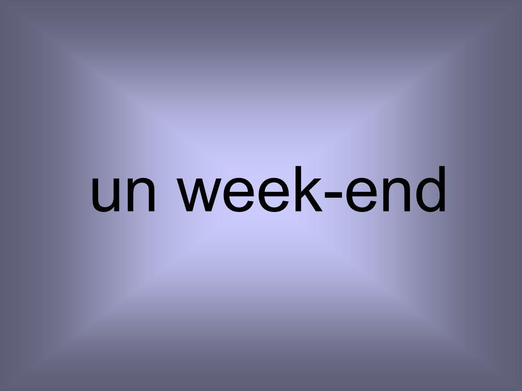 un week-end