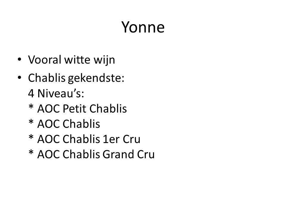 Chablis Grand Cru's