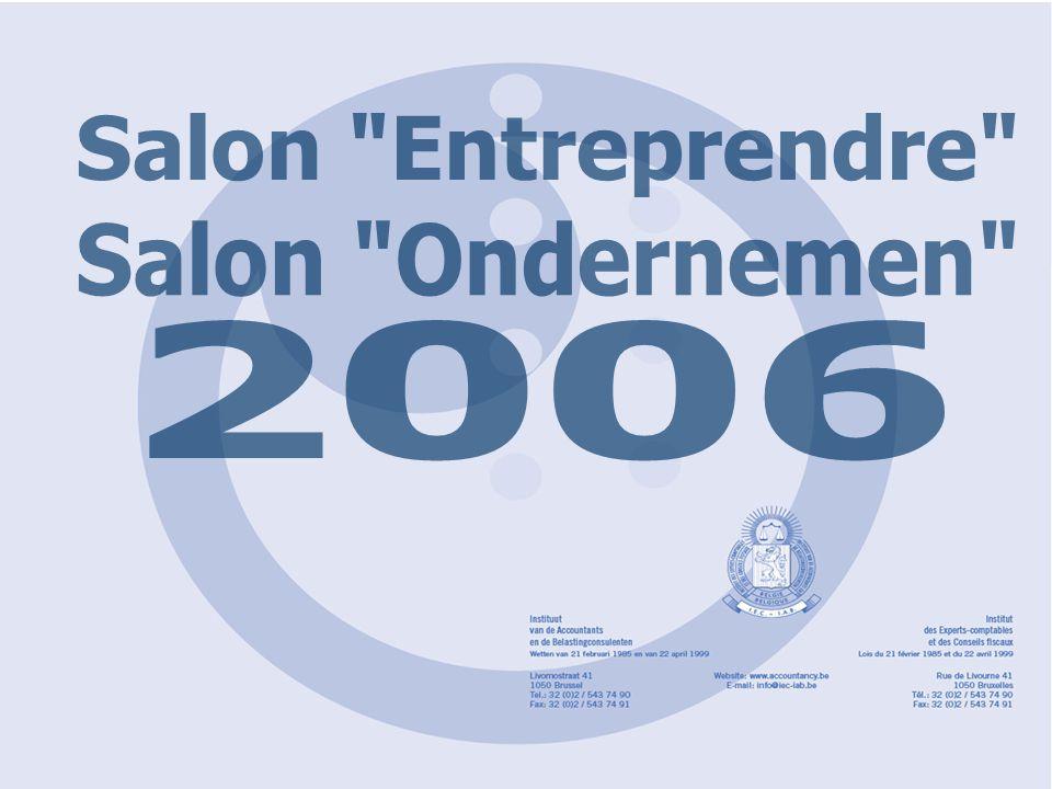 'Entreprendre'2006 'Ondernemen'