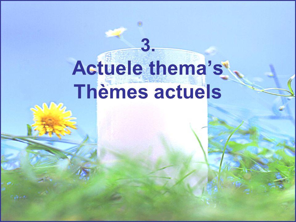 3. Actuele thema's Thèmes actuels