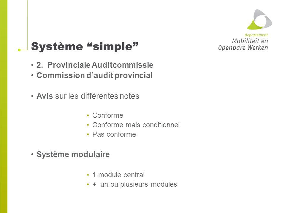Système simple 2.