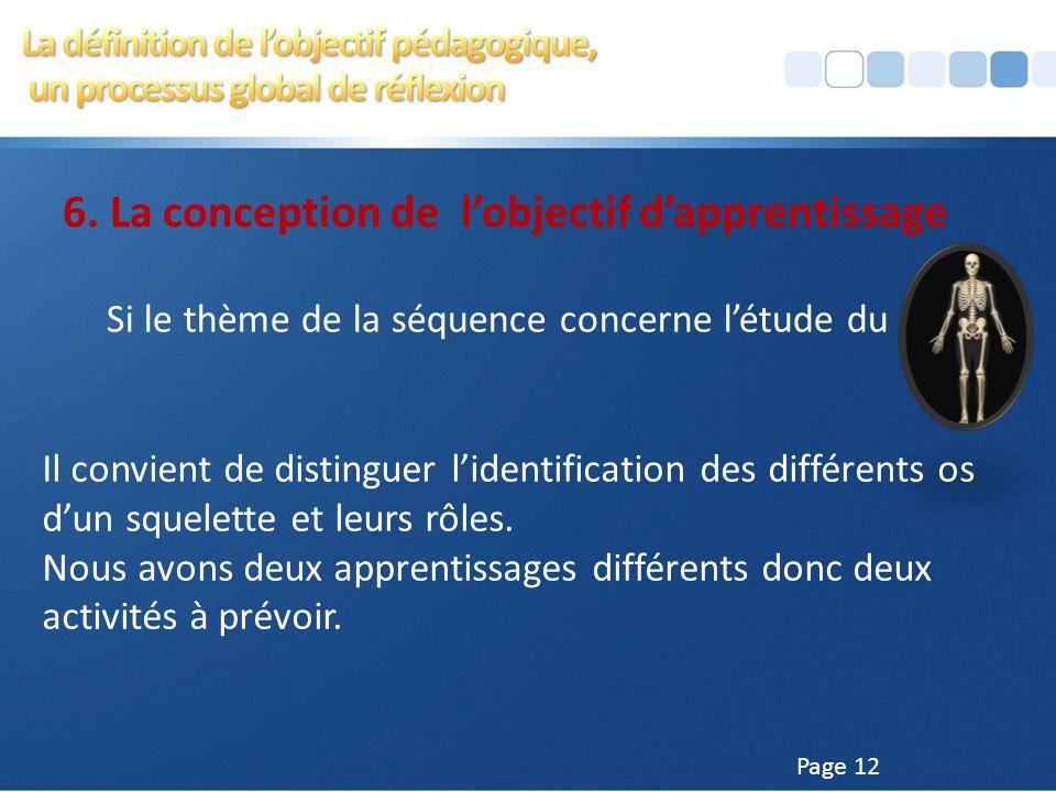 Page 11 5. Le séquençage, un travail pédagogique approfondi À chaque séquence correspond généralement un objectif d'apprentissage. On observe cependan