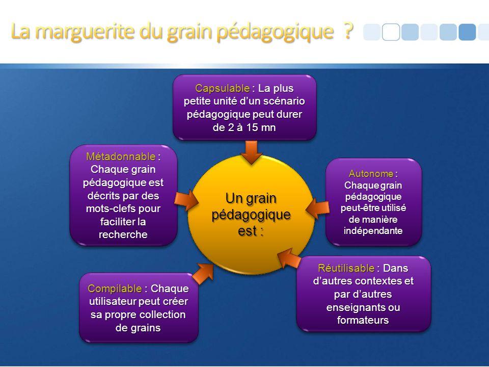 Page 22 Scénariser un grain pédagogique, c'est déterminer les activités que devront réaliser les apprenants en fonction de l'objectif défini et concev