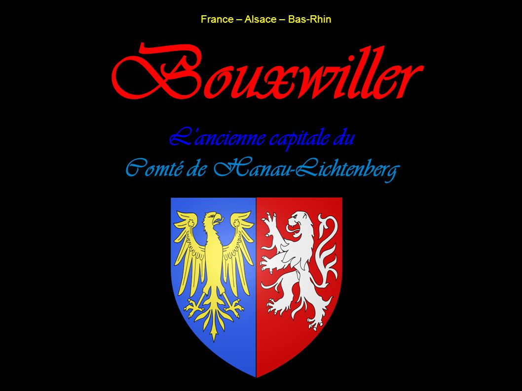 Bouxwiller : Hôtel de Ville, Ancienne Chancellerie du Comté, Place du Château IA67009584