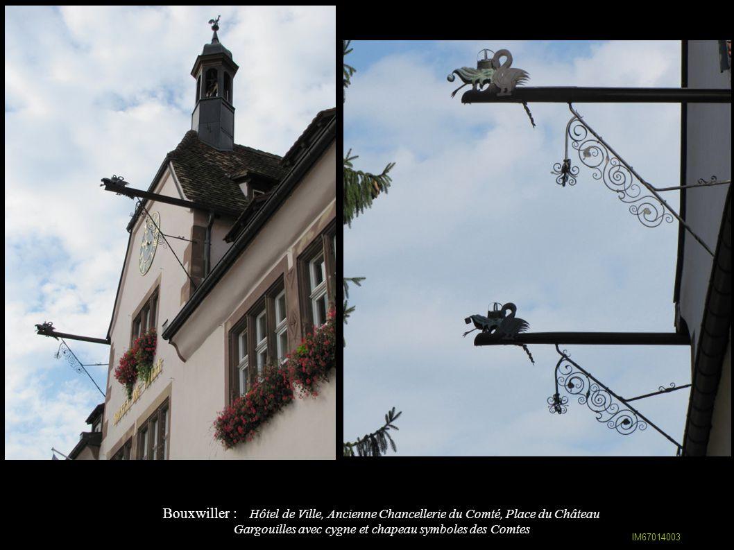 Bouxwiller : Ancien collège du Comté (1748-51), rue de l Eglise IA67009589