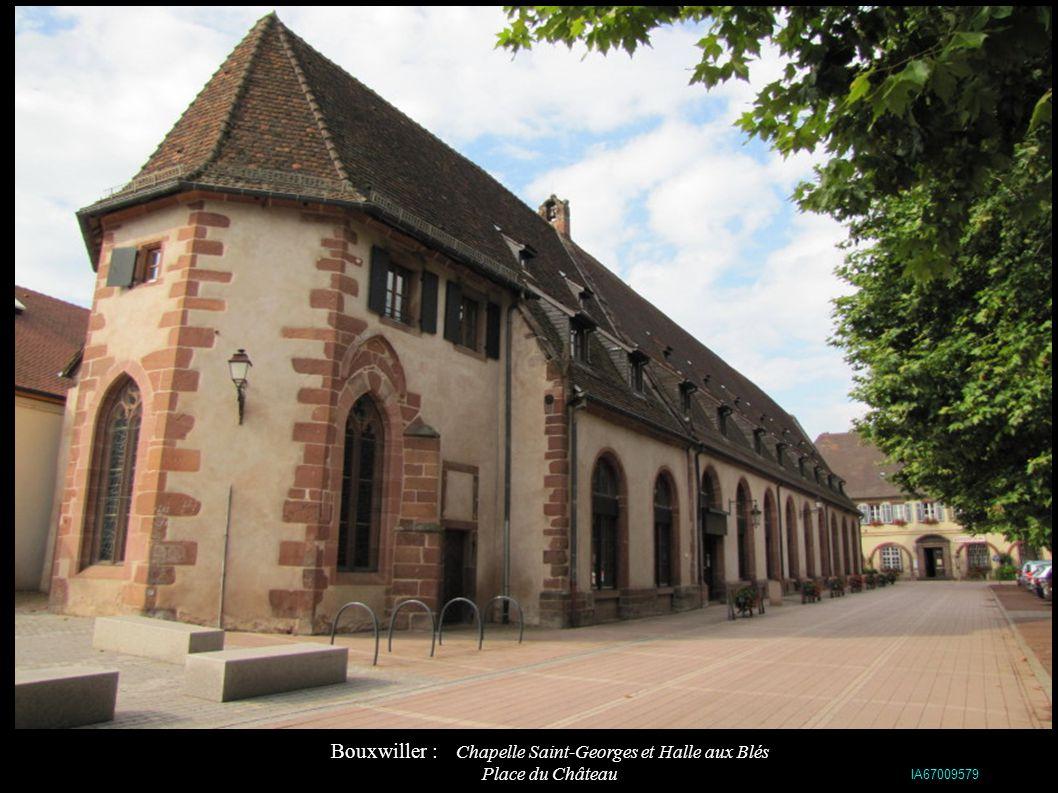 Bouxwiller : Eglise protestante Sainte-Marie (1603) IA67009578