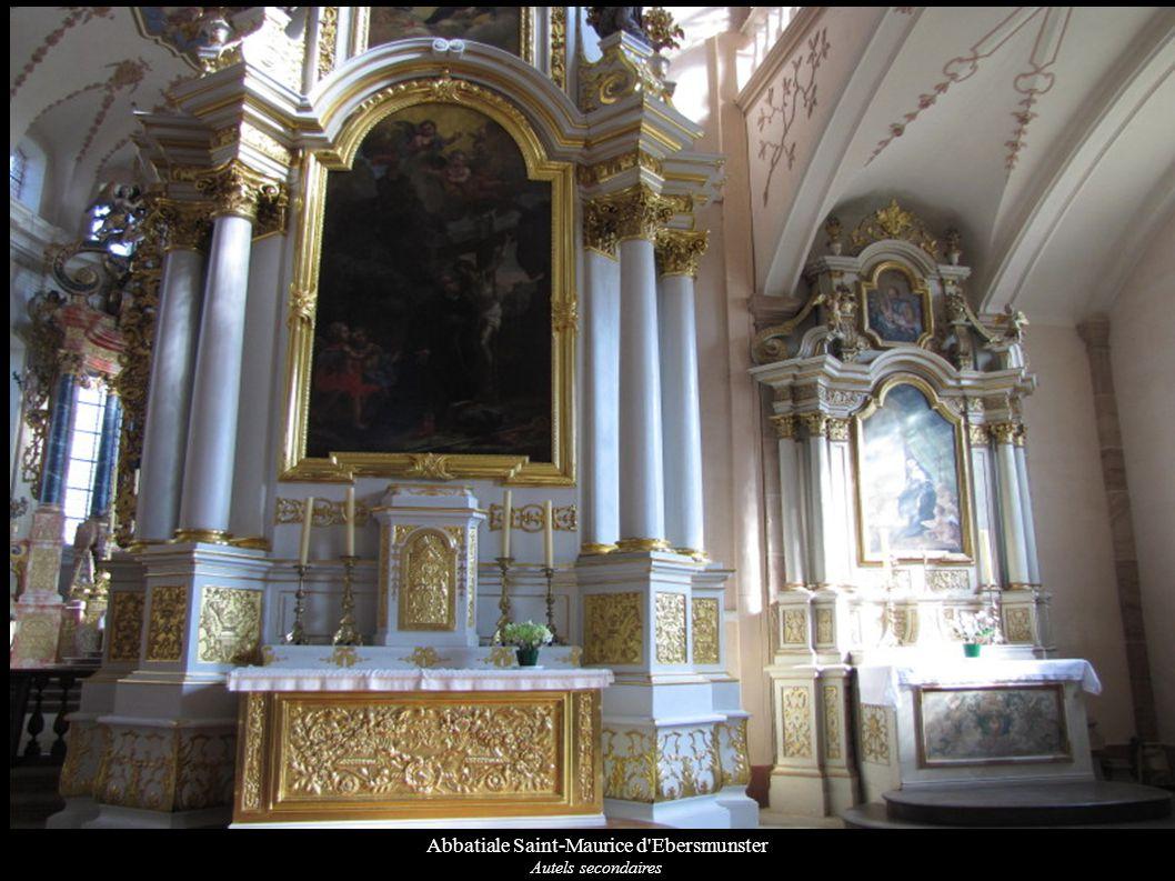 Abbatiale Saint-Maurice d'Ebersmunster Autels secondaires
