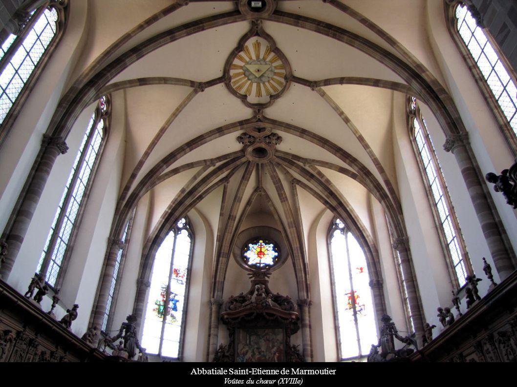 Abbatiale Saint-Etienne de Marmoutier Voûtes du chœur (XVIIIe)