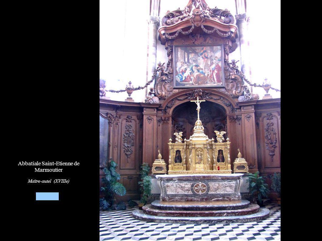 Abbatiale Saint-Etienne de Marmoutier Maître-autel (XVIIIe)