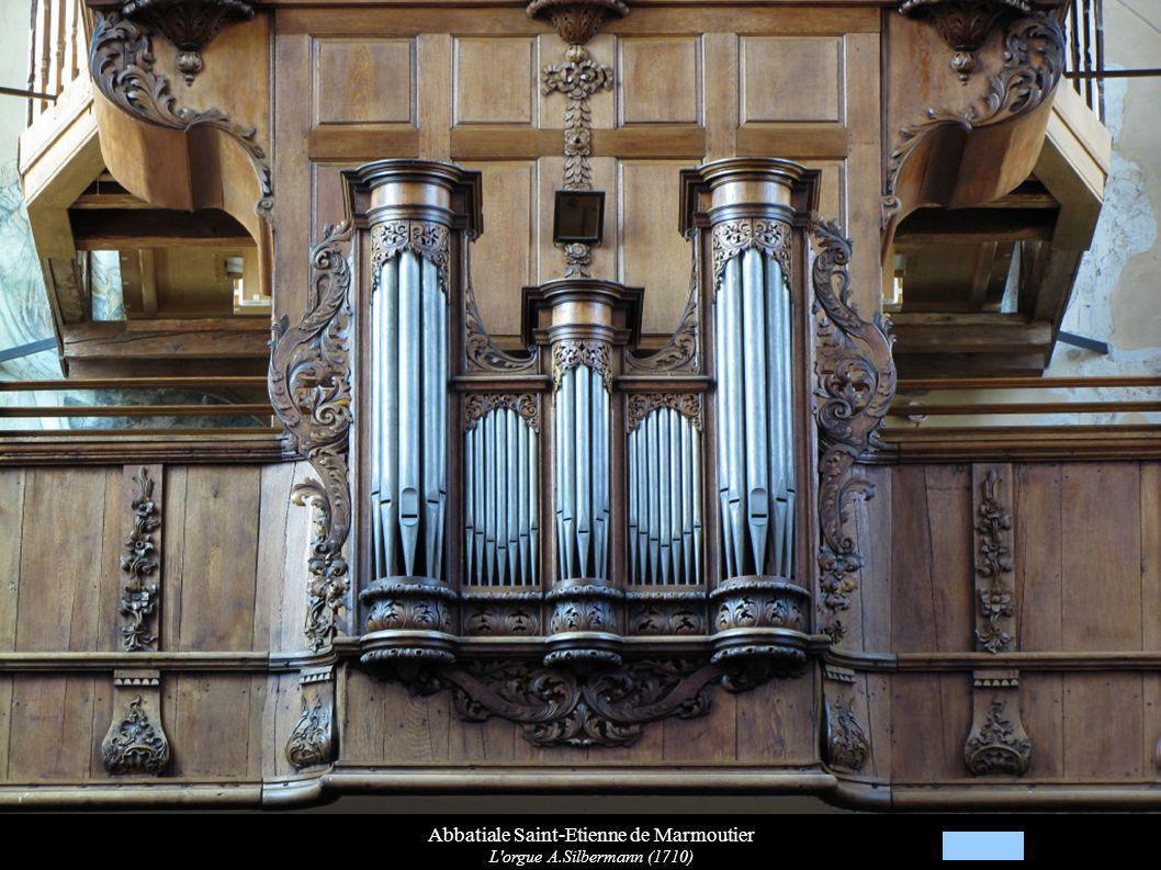 Abbatiale Saint-Etienne de Marmoutier L'orgue A.Silbermann (1710)