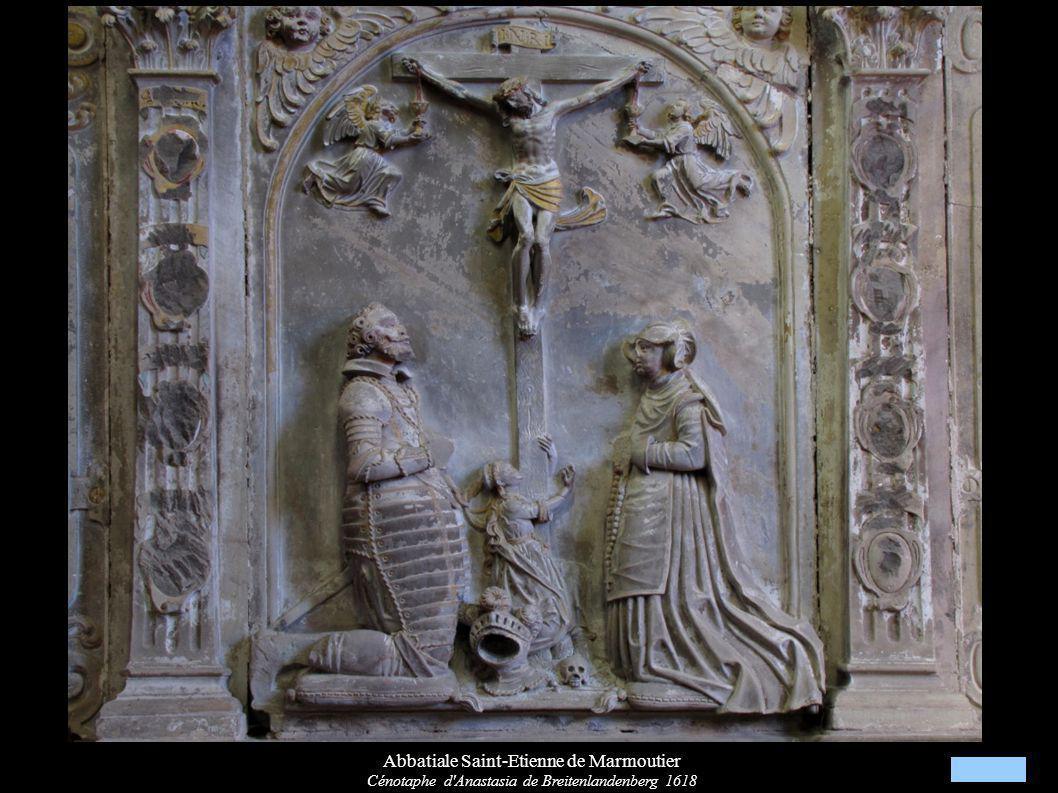 Abbatiale Saint-Etienne de Marmoutier Cénotaphe d'Anastasia de Breitenlandenberg 1618