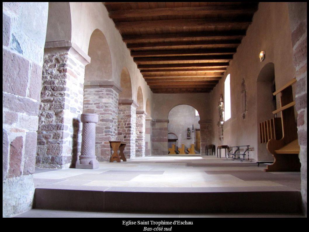 Eglise Saint Trophime d'Eschau Bas-côté sud