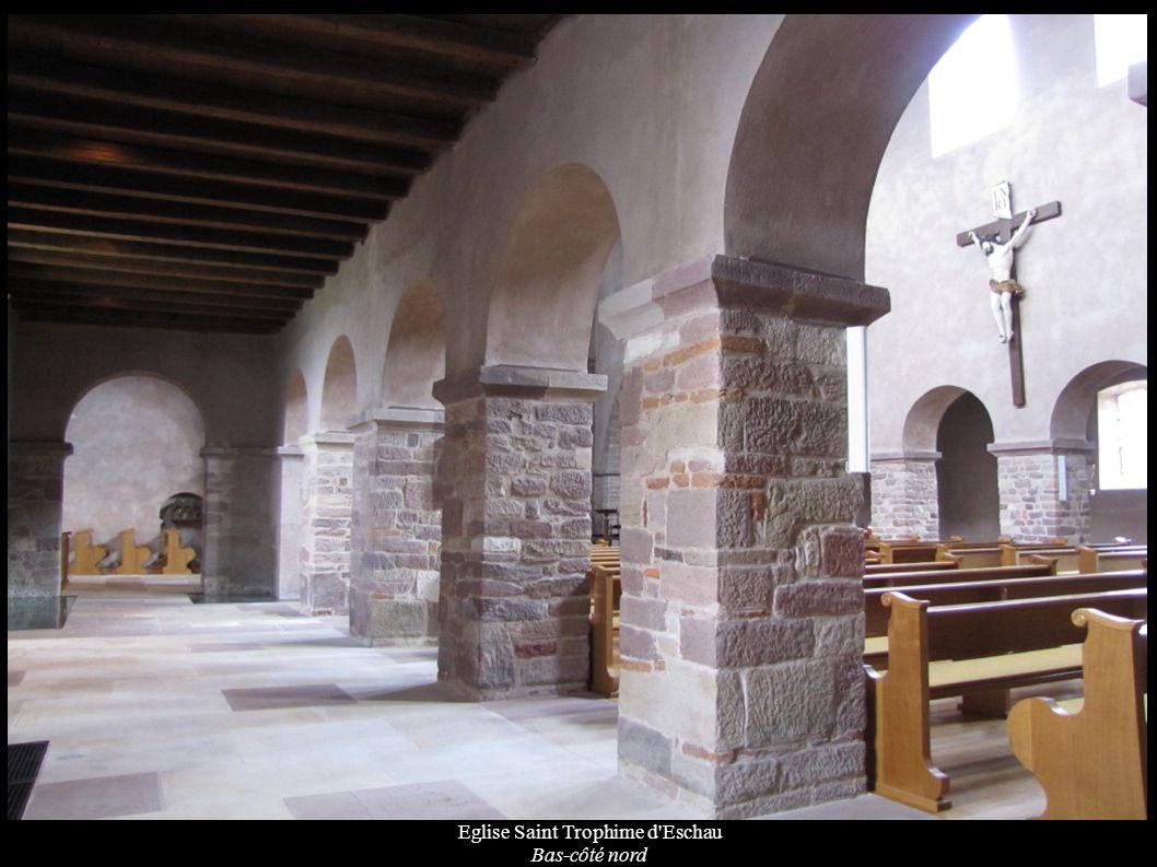 Eglise Saint Trophime d'Eschau Bas-côté nord