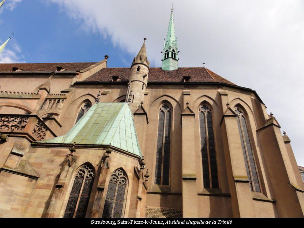 Strasbourg, Saint-Pierre-le-Jeune, Abside et chapelle de la Trinité