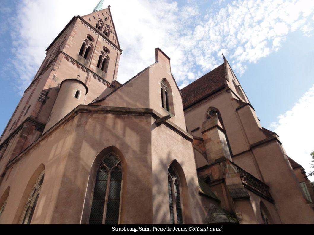 Strasbourg, Saint-Pierre-le-Jeune, Côté sud-ouest