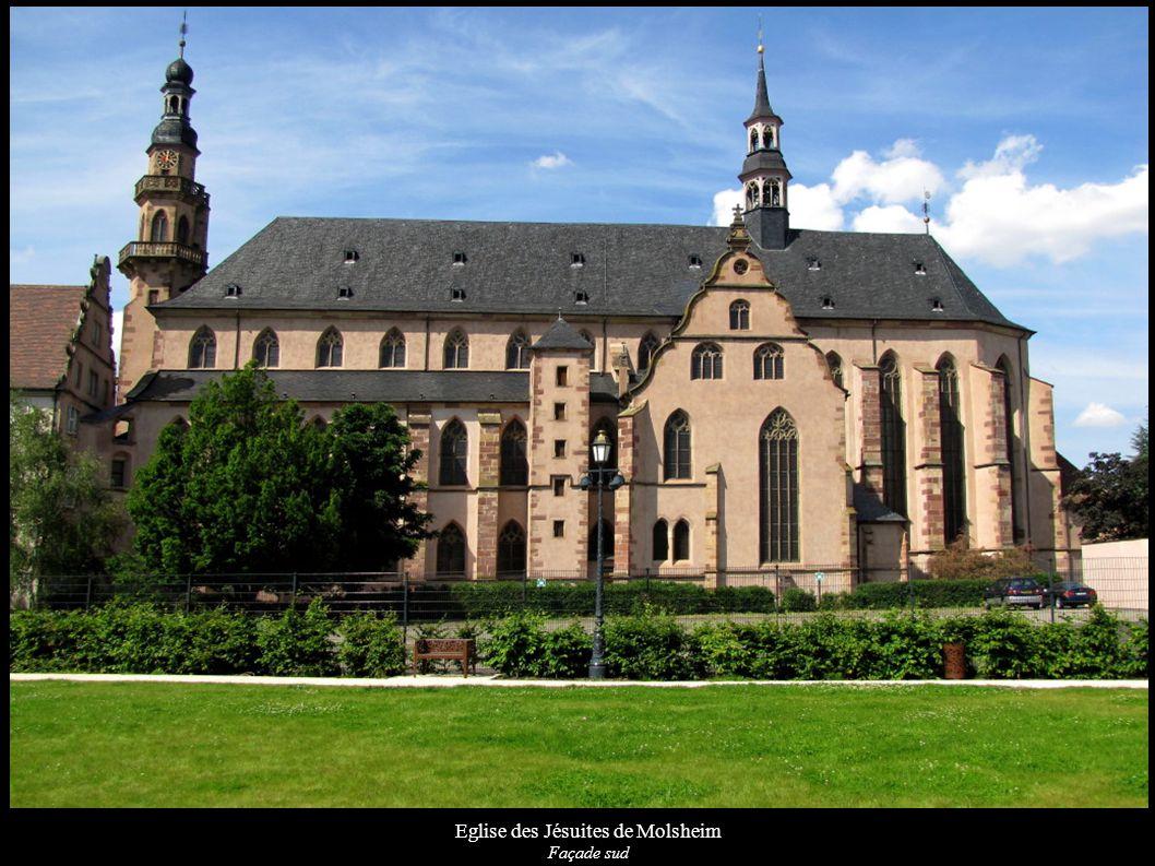 Eglise des Jésuites de Molsheim Façade sud